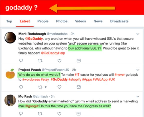 GoDaddy questions