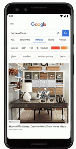 Shoppable Google Image Ad