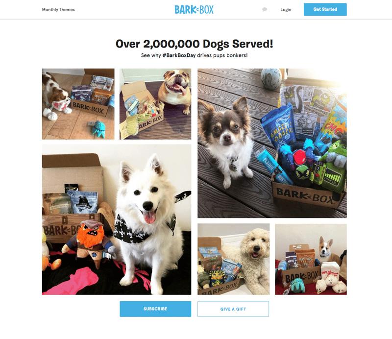 Social Proof - BarkBox