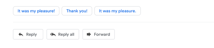 Gmail Reply