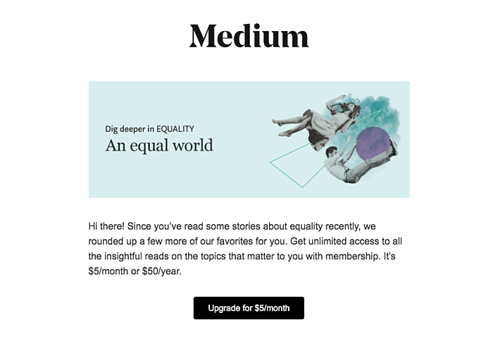 Medium personalization