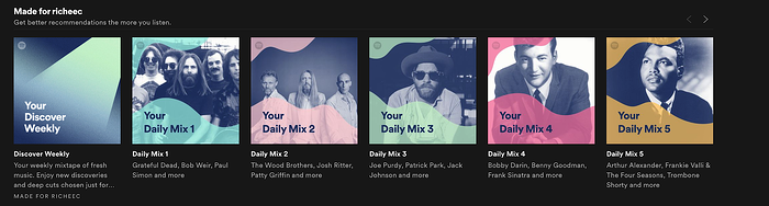 Spotify Made for You