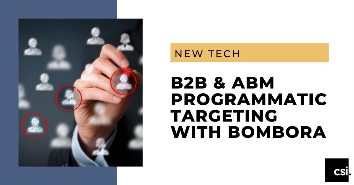 B2B & ABM Programmatic Targeting with Bombora - Banner