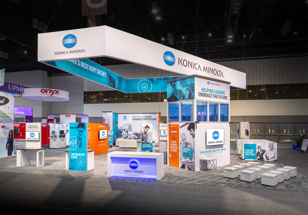 Konica Minolta HIMSS Booth