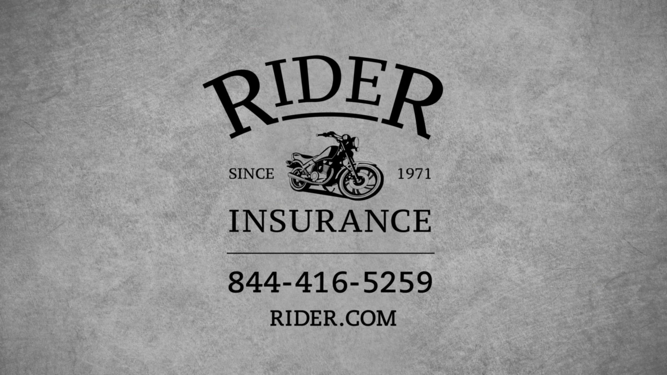 Rider Insurance 'We Get It' Spot // The CSI Group