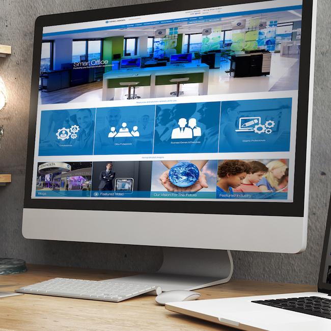 Konica Minolta Business Solutions Website Redesign